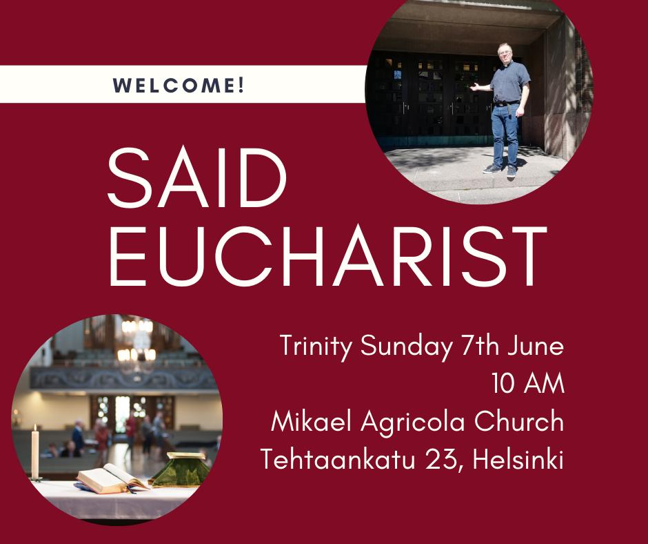 Sunday 7th June 10 AM Mikael Agricola Church Tehtaankatu 23, Helsinki