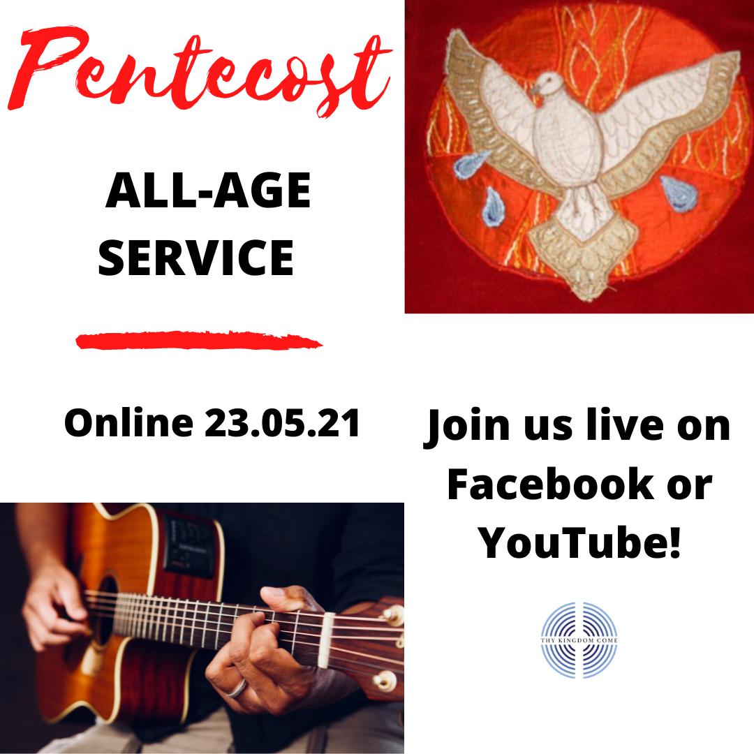 PENTECOST ALL-AGE SERVICE (insta final