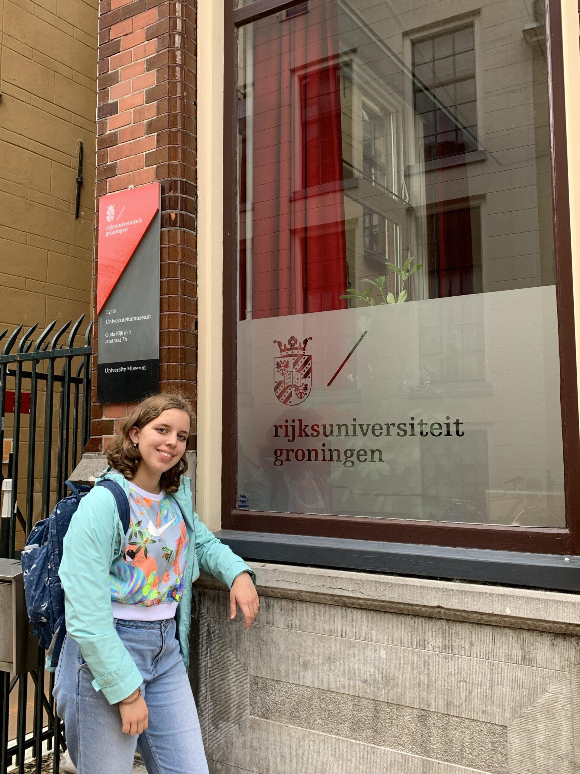 Katharine Roslof in Groningen